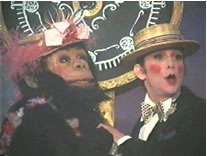 Louize Quick and Joel Grey