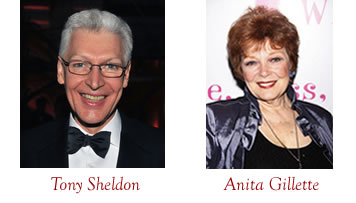 Tony Sheldon and Anita Gillette